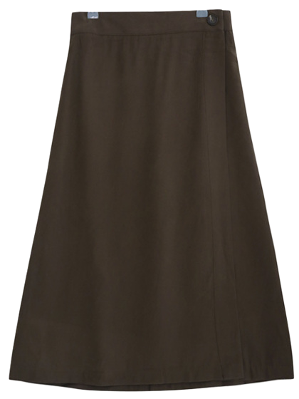 Chalang Wrap Long Skirt