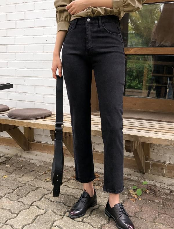 vintage black straight pants