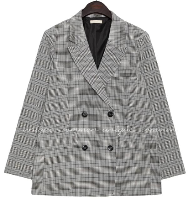 MADRE CHECK DOUBLE JACKET 夾克外套