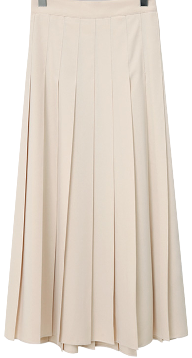 Vivier pleats long skirt (size : free)