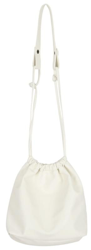pouch string bag (ivory)
