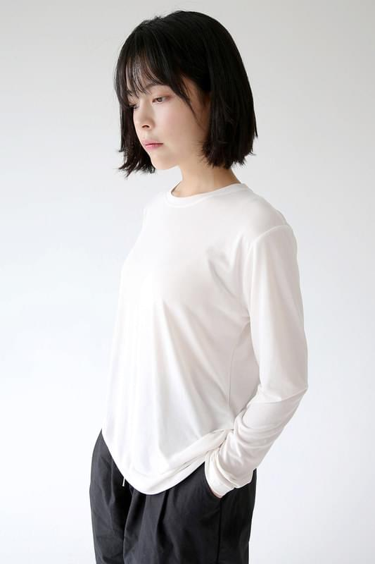 soft tencel loose tee