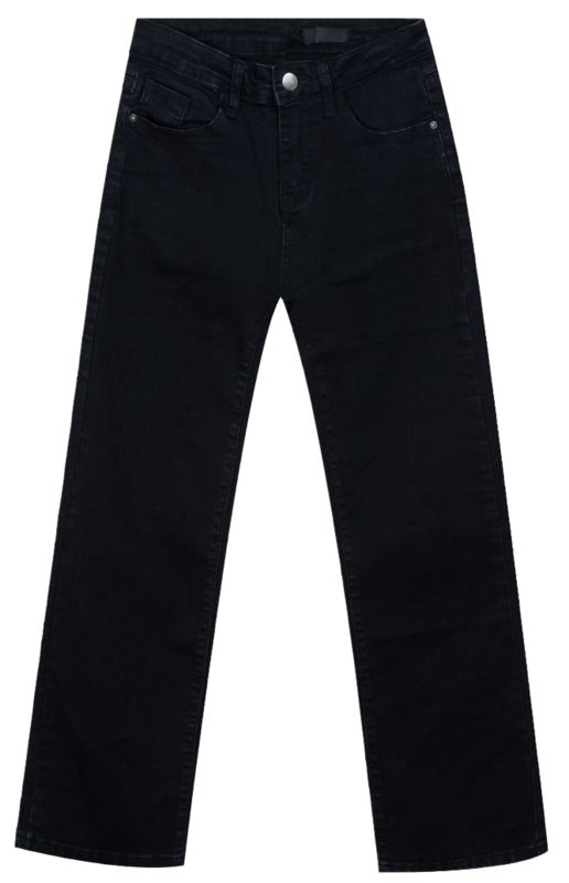 952 semi-bootcut black pants