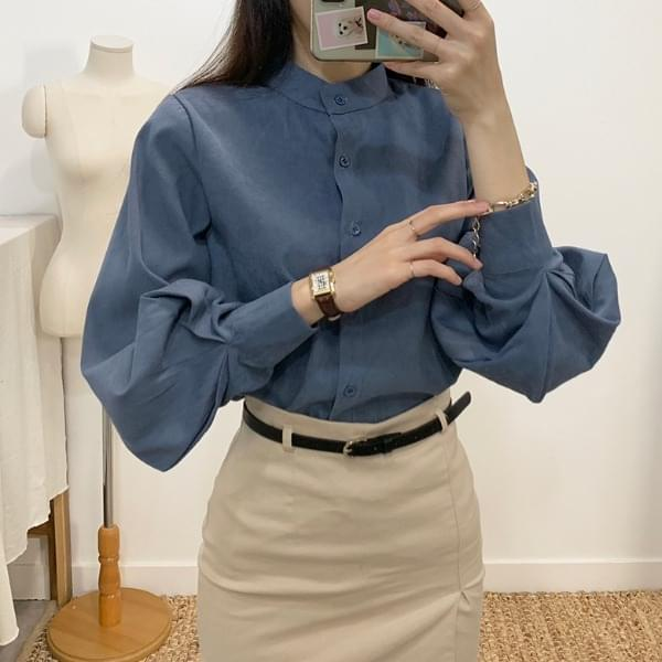 Maion China Balloon Blouse