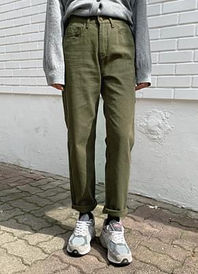 Greenery Cotton Pants