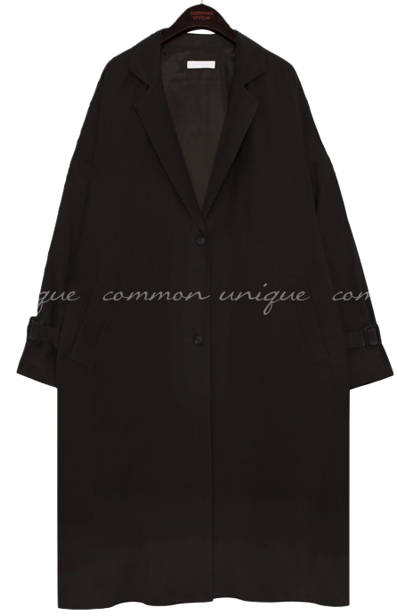 OSLO CUPRA OVER FIT TRENCH COAT coat