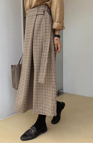 Wercheck Wrap Wool Skirt