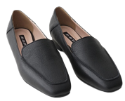 real leather well loafer