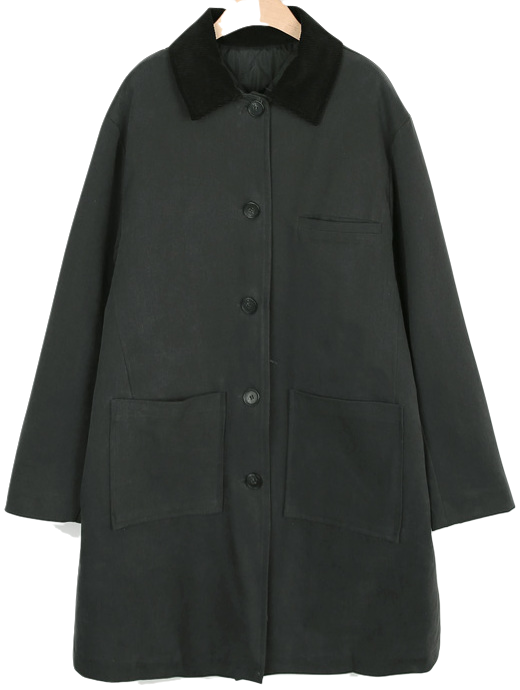Boy quilted lining coat