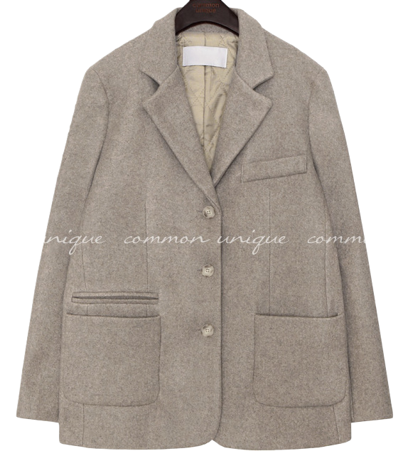ROMAIN BOKASHI WOOL SINGLE JACKET 夾克外套