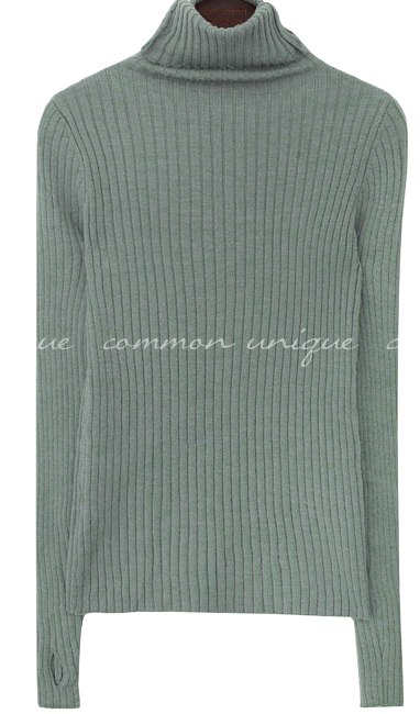 RONITA HAND WARMER TURTLE NECK KNIT