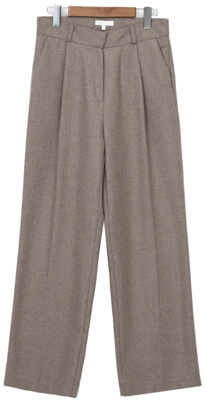 Fan wide wool slacks_C (울 30%) (size : S,M)