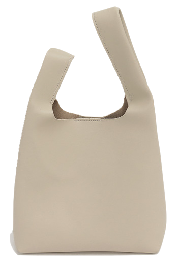 Munt handle tote bag_U