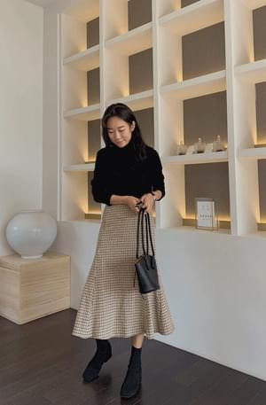 Valenchen wool mermaid skirt