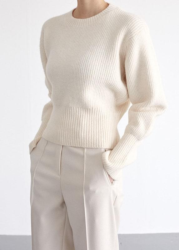Semi crop color knit
