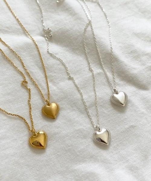love heart necklace 項鍊