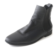 basic real leather chelsea boots
