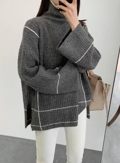 노아빈 knit (*3color)
