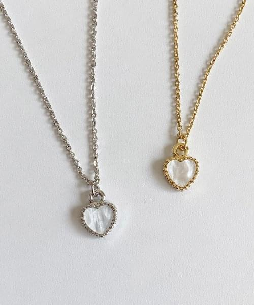 from heart necklace