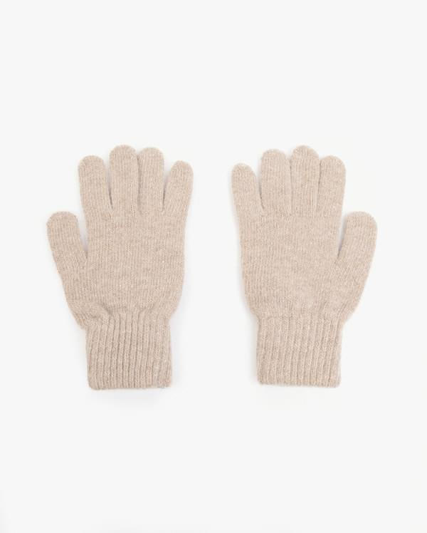 primary simple knit gloves アクセサリー