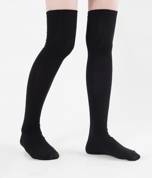 Doniki plain knee socks