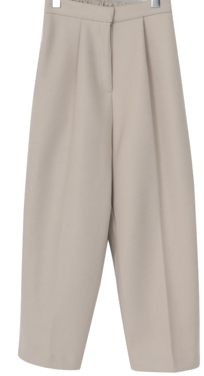 Den wool crop slacks_A (size : free)