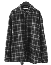 natural check shirt
