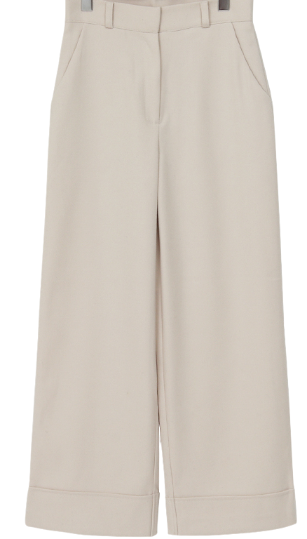Sense long wide pants_H
