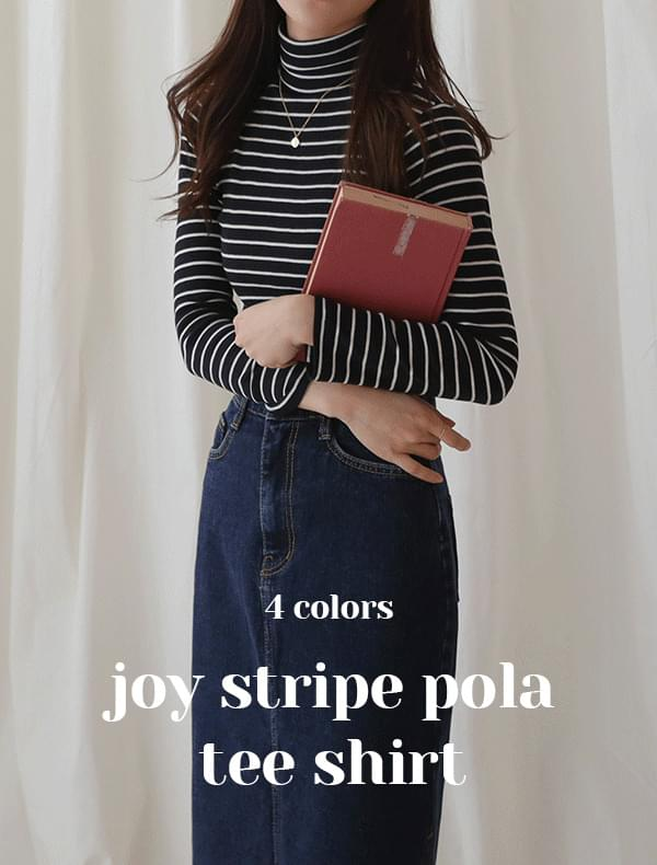 Joey striped polar t-shirt
