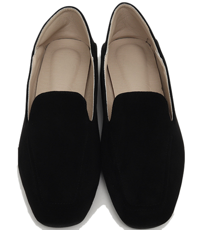 Gram suede simple loafer_Y