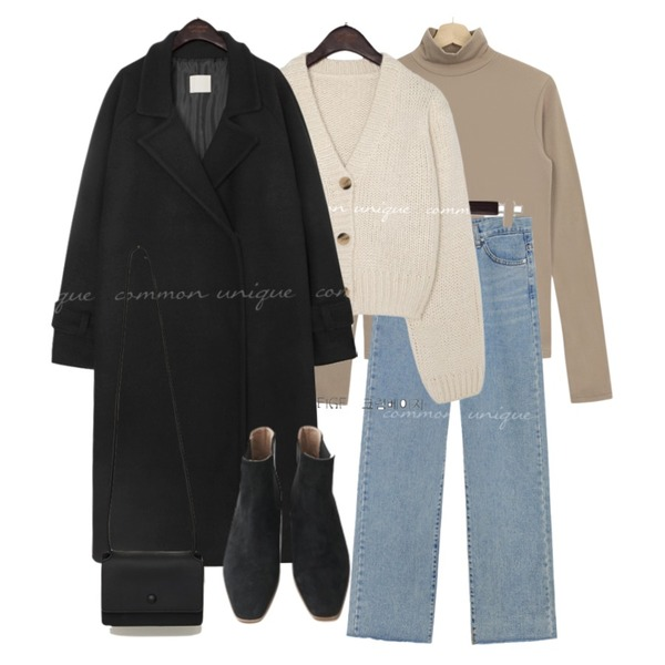 From Beginning Day mini cross bag_U (size : one),Zemma World PBP.워머 속기모 반폴라티,AFTERMONDAY wooden suede chelsea boots (2colors)등을 매치한 코디