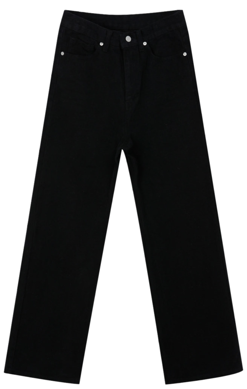 295 cotton wide brushed long pants