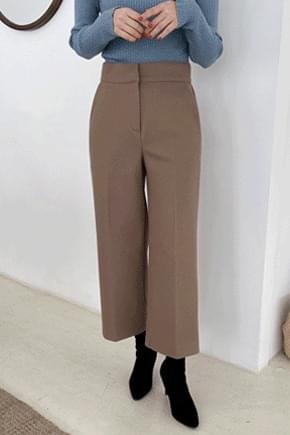 Winter cropped wool slacks * pants