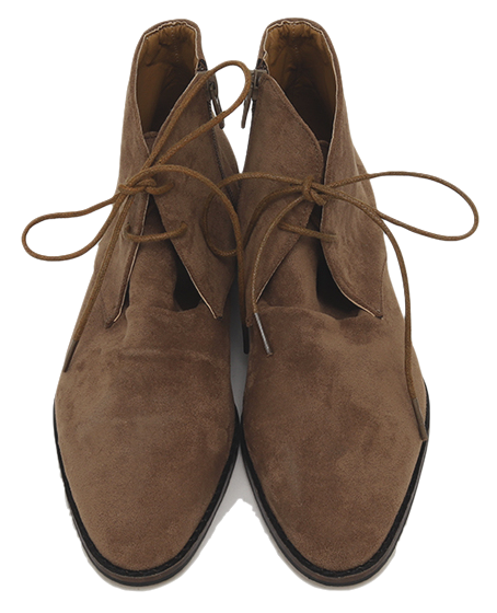 Fore string suede shoes_U