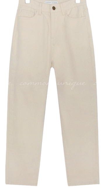 COTTON BAGGY PANTS - 3 VER.