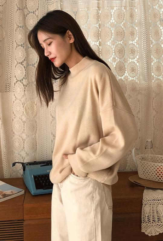 Lemon Half Polar Loose Fit Knit