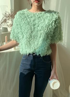 Pastel Feather Knit