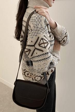 Nordic Polanite-Dark Brown knitwears