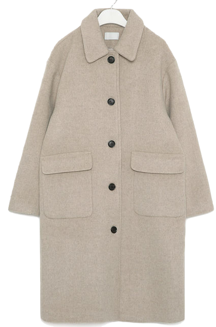ange soft wool single coat