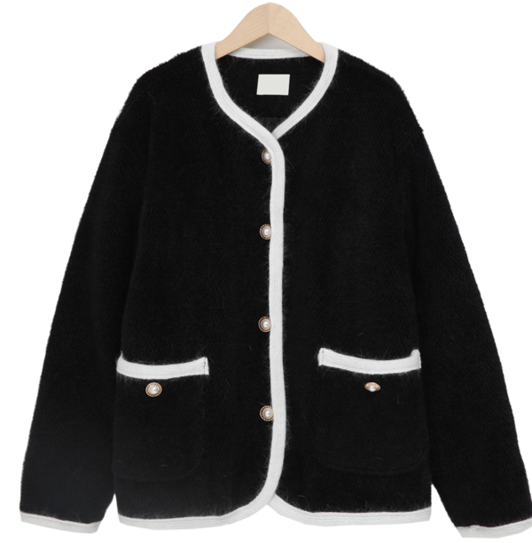 Prem round button jacket_P