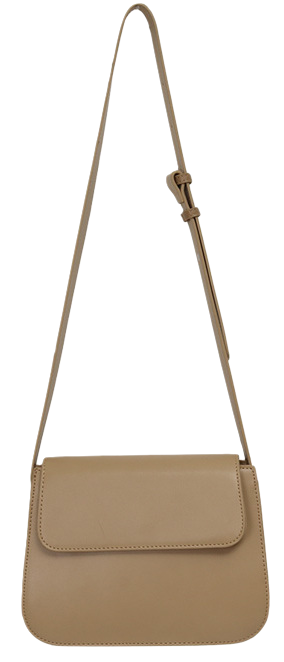 Curve simple cross bag_J (size : one)