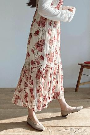 LABIEN FLOWER LONG DRESS