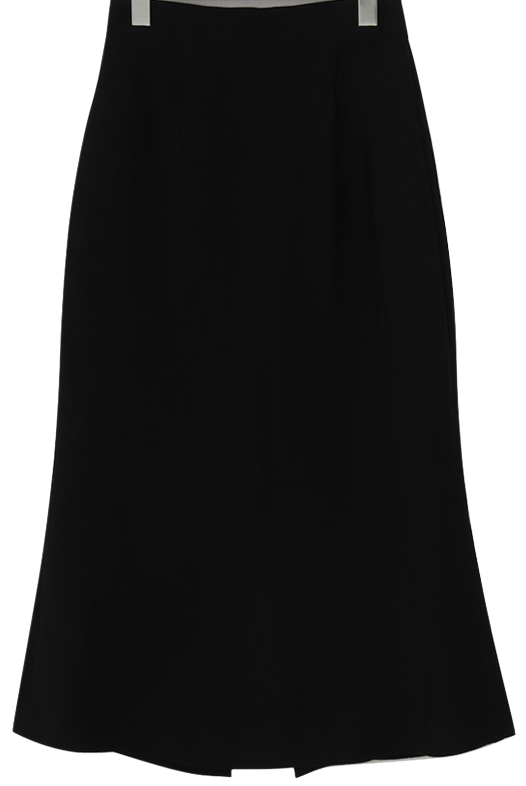 Gloss slit long skirt_U (size : free)