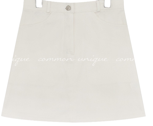VEIN SET-UP COTTON SKIRT - 2 TYPE