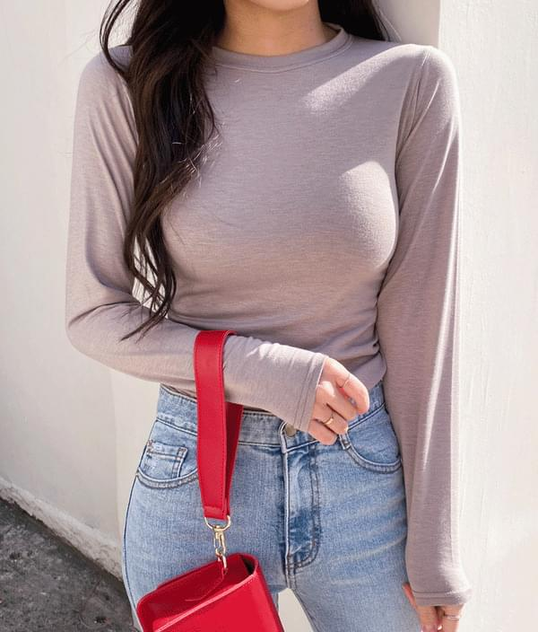 Deli Basic T-Shirt Long Sleeve