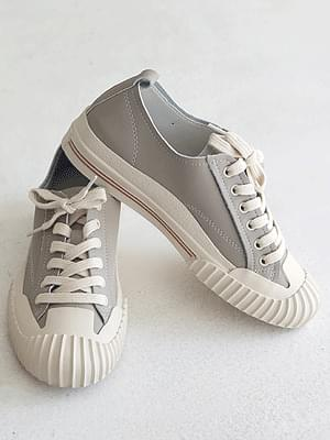 Netian leather sneakers 3cm