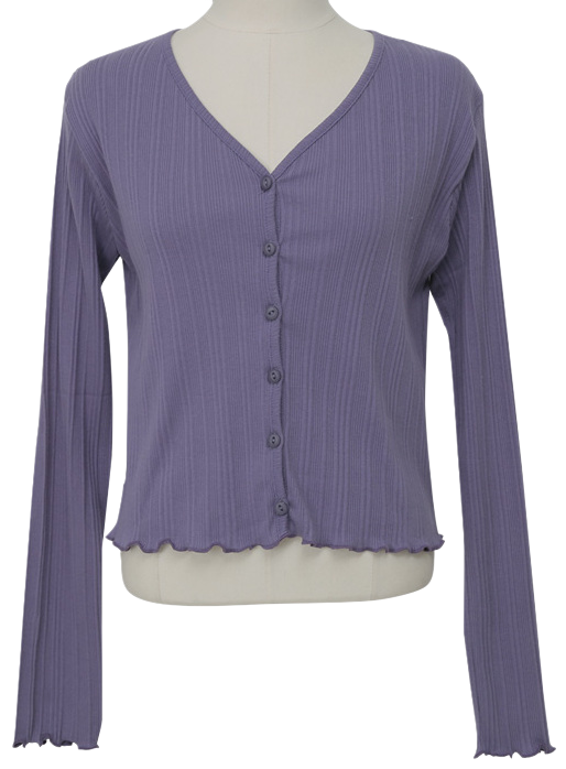 Lovely Slim Button Cardigan
