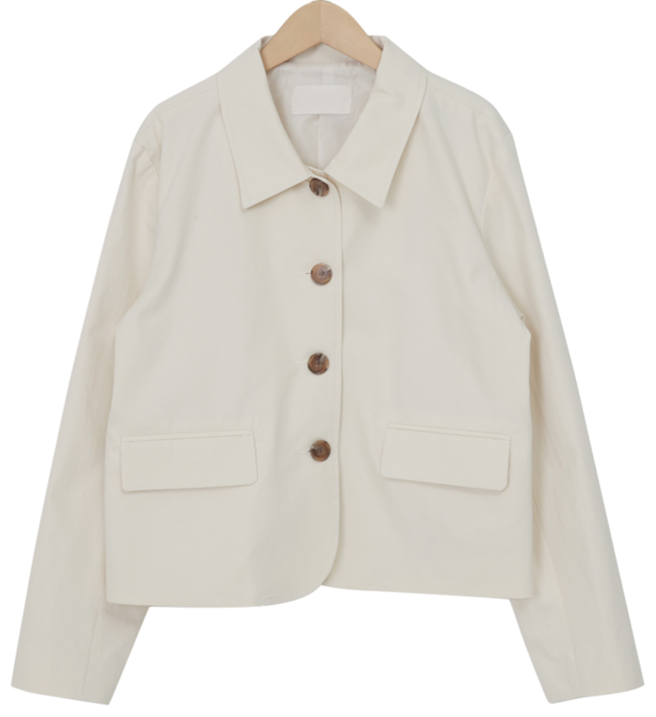 Mate cotton collar jacket_C