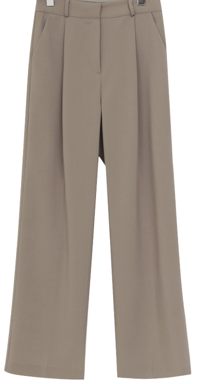 Deep loose long slacks_U (size : free)