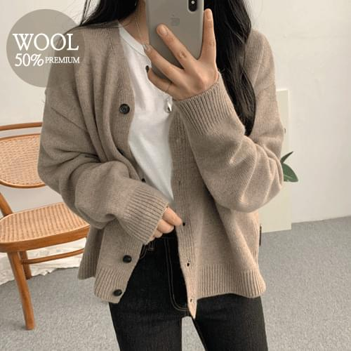Trunn Wool Cardigan